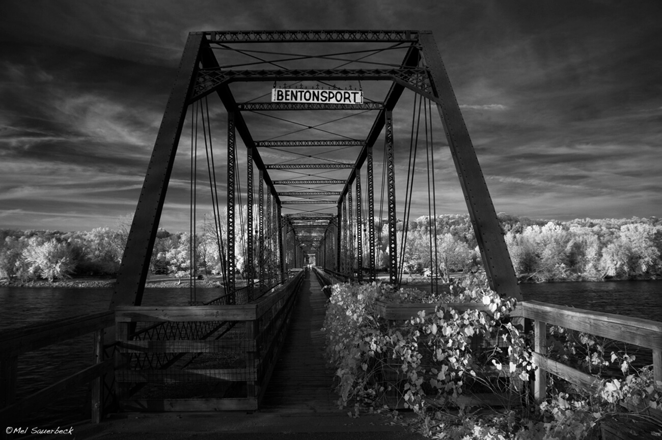 Bentonsport Bridge Infrared