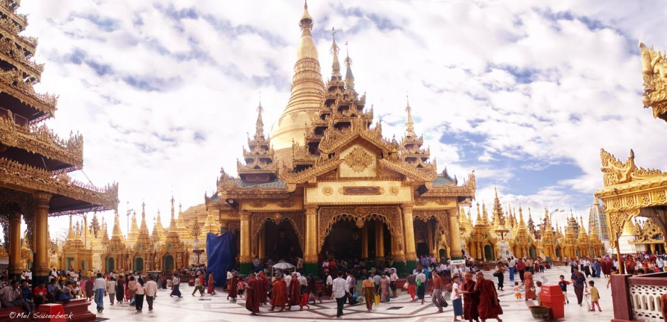 Swedagon Temple, Myanmar, Burma