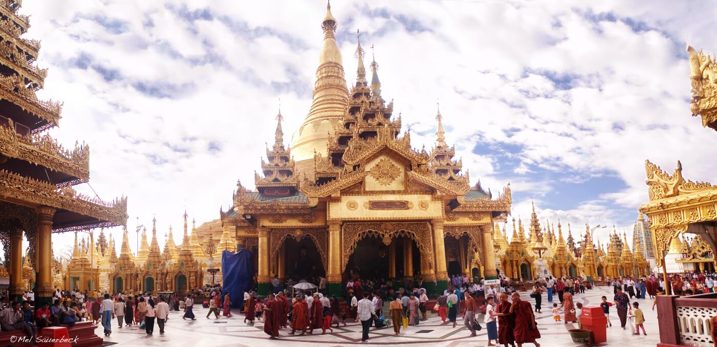Swedagon Temple, Myanmar, Burma