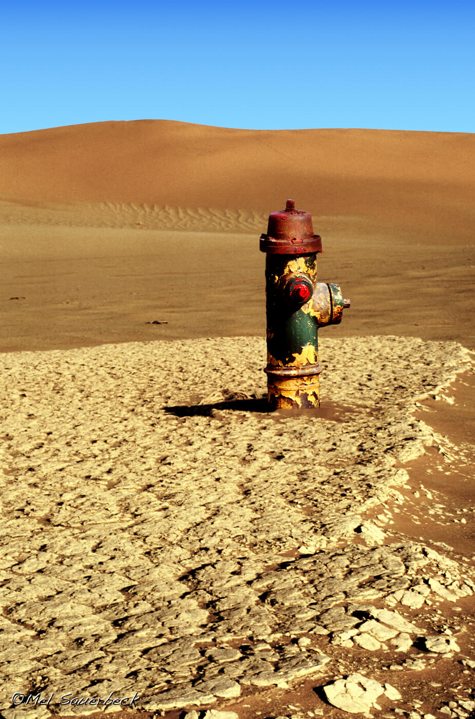 Fire Hydrant in Desert