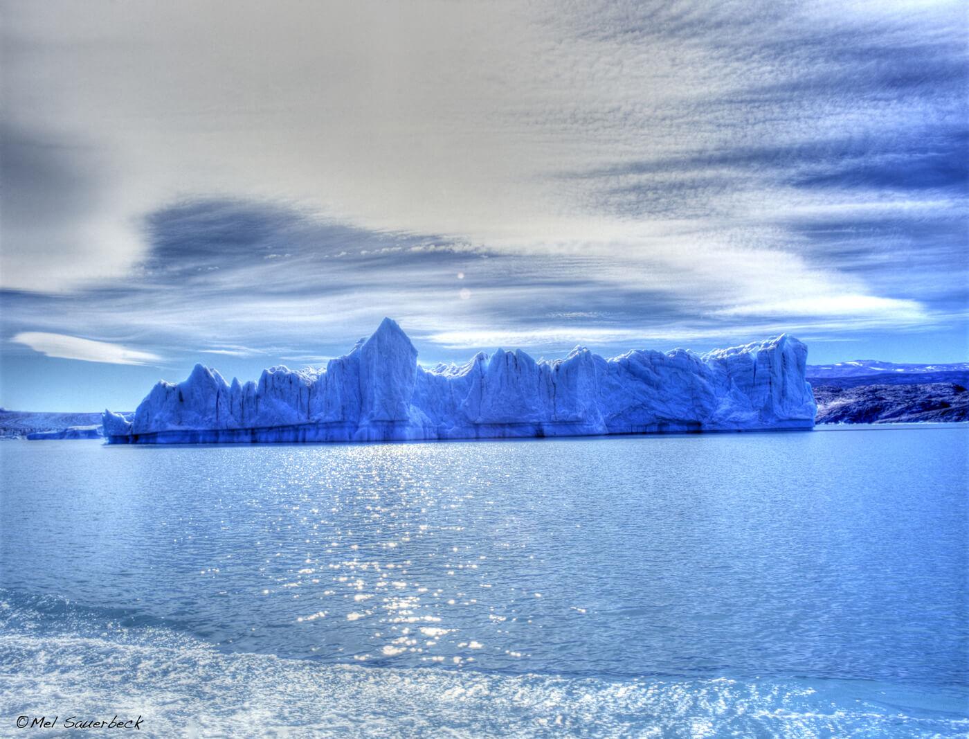 Ice berg, Lago Argintino