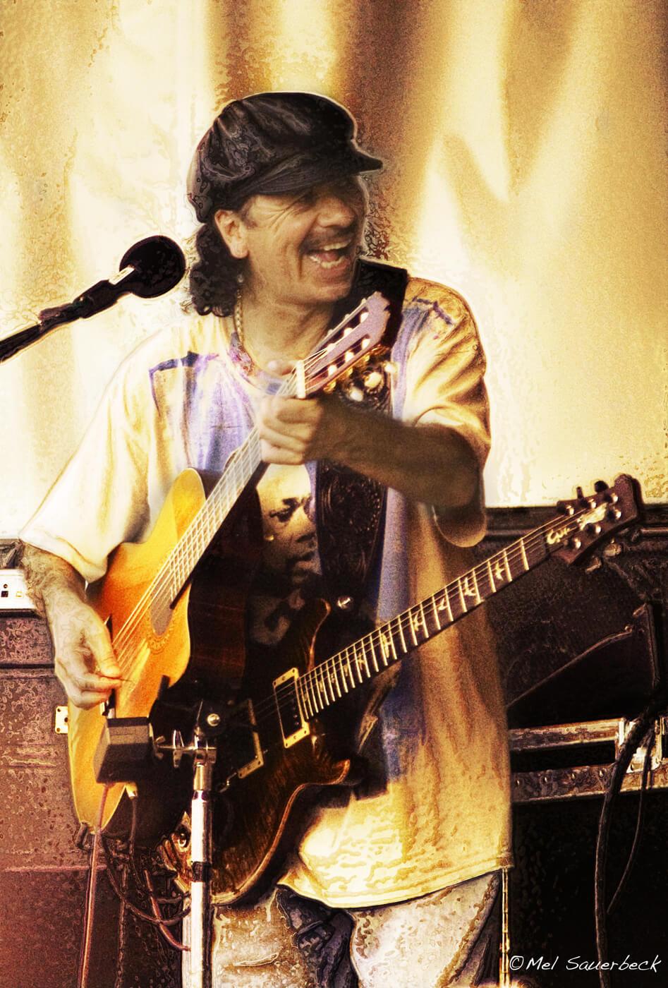 Santana with two guitars