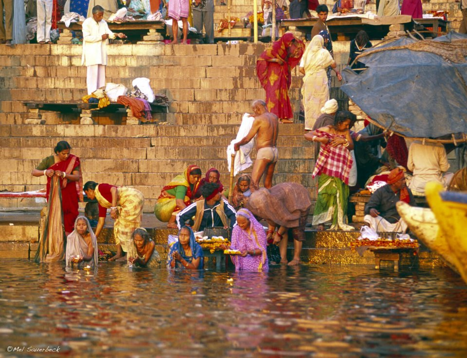 Women Bathing, Varanasi